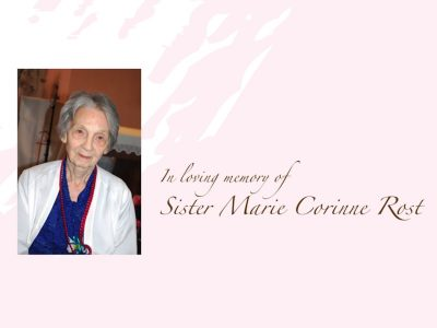 Mass of the Resurrection for Sr Marie Corinne Rost, M.M.(21 Sept at 3 pm, MCS Primary Assembly Hall)