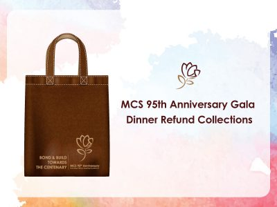 95th Anniversary Gala Dinner Refund Collections, May 29-31, 2020